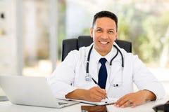 Escritório do médico imagem de stock royalty free