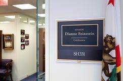 Escritório do senador Dianne Feinstein do Estados Unidos foto de stock