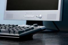 Escritório do teclado Foto de Stock Royalty Free
