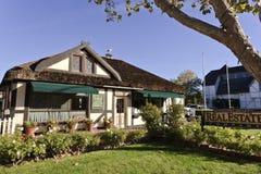 Escritório dos bens imobiliários, Solvang, Califórnia Imagens de Stock Royalty Free