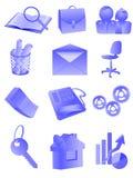Escritório e negócio ilustração royalty free