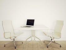 Escritório interior moderno Imagens de Stock