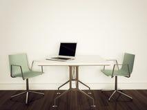 Escritório interior moderno Imagem de Stock