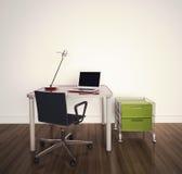 Escritório interior moderno Imagem de Stock Royalty Free