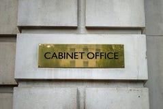 Escritório Londres do gabinete Fotografia de Stock Royalty Free