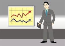 Escritório Manager Imagem de Stock Royalty Free
