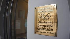 Escritório olímpico alemão da sociedade do Gesellschaft de Deutsche Olympische filme