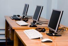 Escritório ou interior do centro de aprendizado Fotos de Stock Royalty Free
