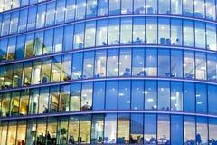 Escritório para negócios do arranha-céus, construção incorporada em Londres imagem de stock royalty free