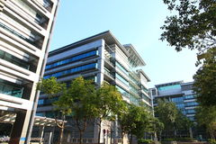 Escritórios da alta tecnologia em Hong Kong Imagem de Stock