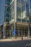 Escritórios de KPMG, zonas das docas de Londres Foto de Stock Royalty Free