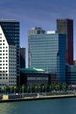 Escritórios de Rotterdam Foto de Stock Royalty Free