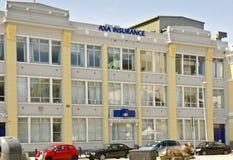 Escritórios de seguro de AXA imagem de stock royalty free