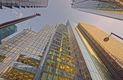 Escritórios e apartamentos Imagem de Stock Royalty Free