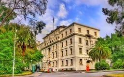Escritórios parlamentares da comunidade perto do jardim de Fitzroy - Melbourne, Austrália Fotografia de Stock Royalty Free