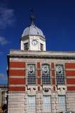 Escritórios velhos da placa de porto, Southampton Imagens de Stock