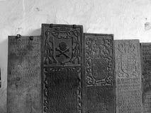 Escrita de pedra antiga fotos de stock royalty free