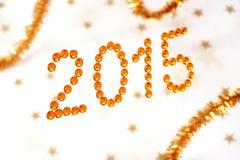 2015 escrito Imagens de Stock