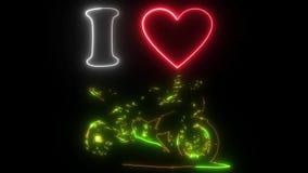 Escrito con un corazón y una motocicleta metrajes
