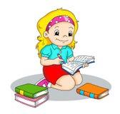 Escritor ilustração royalty free