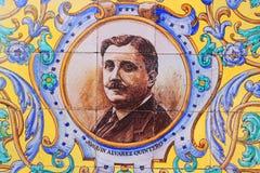 Escritor de Quintero del lvarez del  de JoaquÃn à imágenes de archivo libres de regalías