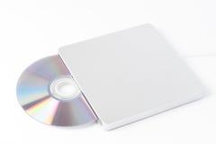 Escritor externo del DVD Imagen de archivo