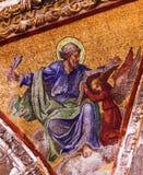 Escritor Mosaic Old Basilica do gospel de Guadalupe Mexico City Mexico foto de stock