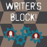 Escritor S Is Block del texto de la escritura E libre illustration