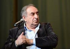 Escritor satírico ruso bien conocido, escritor y humorista Yefim Smolin fotografía de archivo