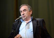 Escritor satírico ruso bien conocido, escritor y humorista Yefim Smolin imágenes de archivo libres de regalías