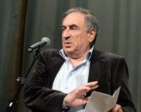 Escritor satírico ruso bien conocido, escritor y humorista Yefim Smolin fotos de archivo libres de regalías