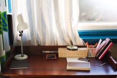 Escritorio casero Imagen de archivo