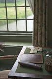 Escritorio de escritura Fotos de archivo libres de regalías