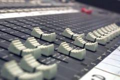 Escritorio de los sonidos Foto de archivo libre de regalías