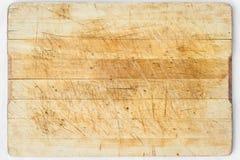 Escritorio de madera Imagen de archivo libre de regalías