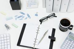 Escritorio de oficina Fotos de archivo
