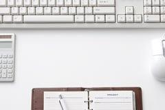Escritorio de oficina Imagenes de archivo
