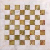 Escritorio del ajedrez Fotografía de archivo