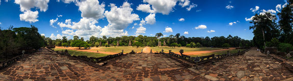 Angkor Thom Foto de archivo libre de regalías