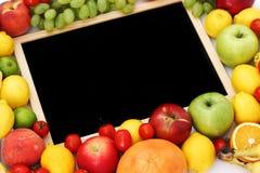 Escritorio en fruta Foto de archivo libre de regalías