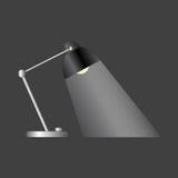 Escritorio Lamp Imagen de archivo libre de regalías