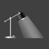 Escritorio Lamp Fotografía de archivo