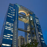 Escritório de Osaka que buidling Fotos de Stock Royalty Free