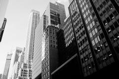 Escritórios de Manhattan Fotografia de Stock