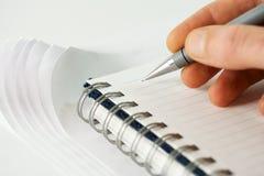 Escritura. fotografía de archivo libre de regalías