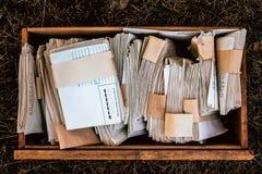 Escritura Imagen de archivo libre de regalías