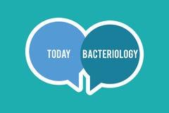 Escritura conceptual de la mano que muestra la bacteriología Rama del texto de la foto del negocio de la microbiología que se ocu libre illustration