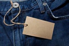 Escritura de la etiqueta Fotografía de archivo libre de regalías