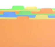 Escritura de la etiqueta colorida Imagen de archivo libre de regalías