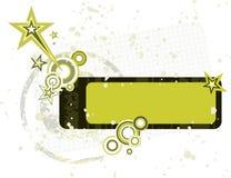 Escritura de la etiqueta de Grunge Imagen de archivo libre de regalías